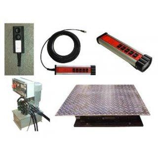 AST- 8.3-Pit, Achslast max 8t,  Achsspieltester hydraulisch für Arbeitsgrube, mit Teflon Gleitlager und Kabel Fernbedienung