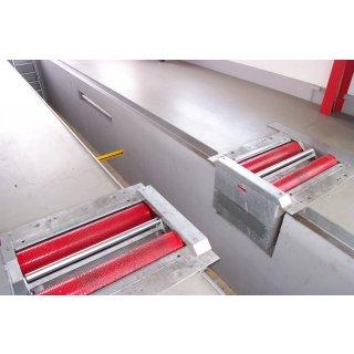 BPS-Twin-18.0-RSE, Rollendurchmesser 268 mm, max. Achslast 18t,  Rollensatz geteilt