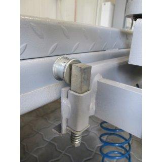 ATH AF2500P2, Scheren-Achsfreiheber, pneumatisch-hydraulischer Antrieb, Traglast 2,5t