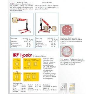 IRT4-2 PcAuto, IRT-Infrarot Trockner