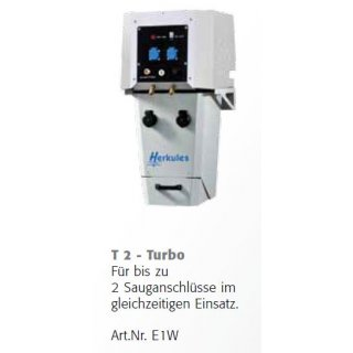 Turbine T2, 1.3 kW Wandversion, Hexadust Absaugsystem