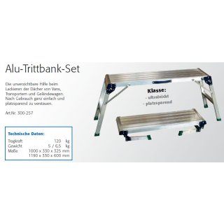 Trittbank-Set