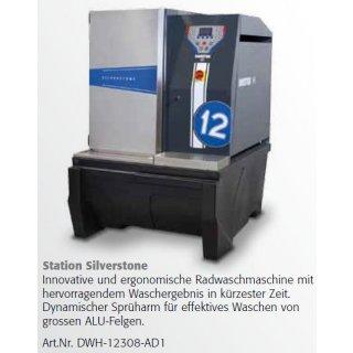 Radwaschstation GP12 Silverstone mit Heizstab und Quicklift